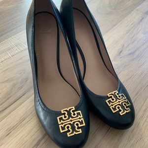 Tory Burch- Wedge Pumps. Worn Once